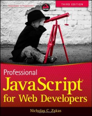 Copertina Professional JavaScript for Web Developers