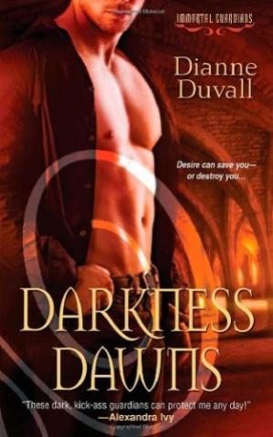 Book cover Darkness Dawns