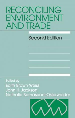 A capa do livro Reconciling Environment and Trade, Second Revised Edition