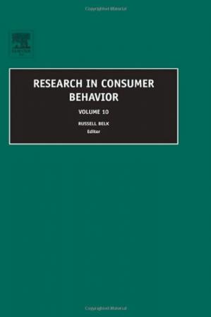 غلاف الكتاب Research in Consumer Behavior