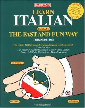 Buchdeckel Learn Italian the Fast and Fun Way