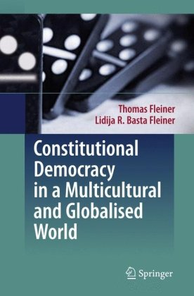 "Okładka książki Constitutional Democracy in a Multicultural and Globalised World: English translation from the German 3rd revised edition ""Allgemeine Staatslehre"" by Katy Le Roy"