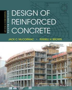 Book cover Design of reinforced concrete