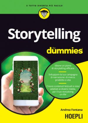 书籍封面 Storytelling for dummies