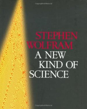 Book cover A New Kind of Science