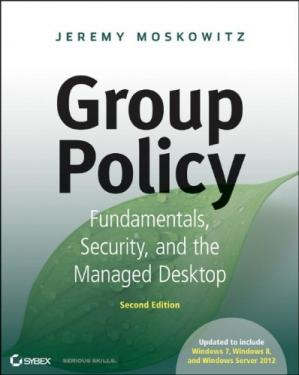 A capa do livro Group Policy: Fundamentals, Security, and the Managed Desktop
