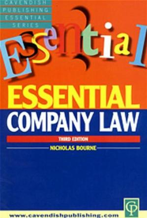 书籍封面 Essential Company Law (Essentials)