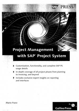 Обкладинка книги Project Management With SAP Project System