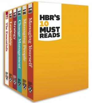 Book cover HBR's Must Reads Boxed Set (6 Books) (HBR's 10 Must Reads)