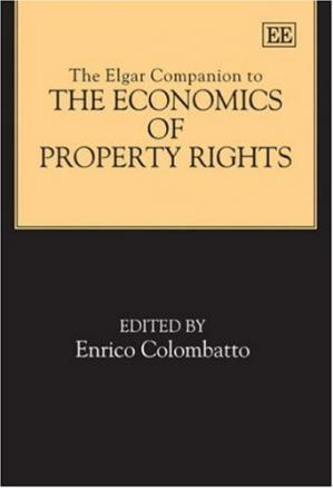 Okładka książki The Elgar Companion to the Economics of Property Rights