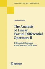 Sampul buku The Analysis of Linear Partial Differential Operators II: Differential Operators with Constant Coefficients