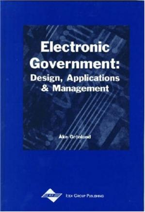 Copertina Electronic Government: Design, Applications and Management