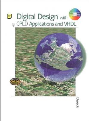 Book cover Digital design with CPLD applications and VHDL