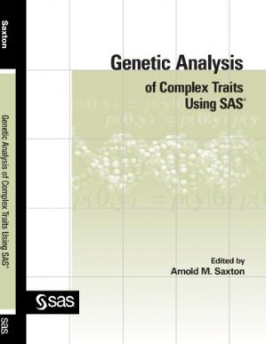 Εξώφυλλο βιβλίου Genetic Analysis of Complex Traits Using SAS