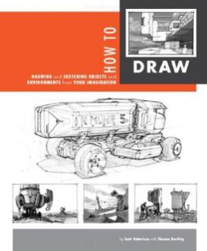 Buchdeckel How to Draw  drawing and sketching objects and environments from your imagination