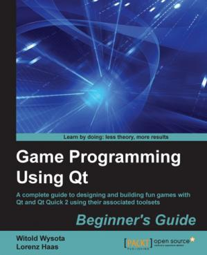 Book cover Game Programming Using Qt: Beginner's Guide