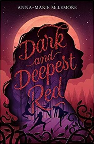 Book cover Dark and Deepest Red