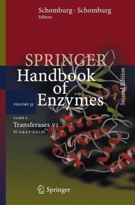 غلاف الكتاب Springer handbook of enzymes