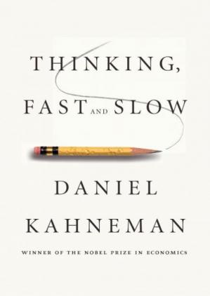 Book cover Thinking, Fast and Slow