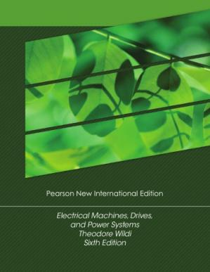 Portada del libro Electrical Machines, Drives and Power Systems