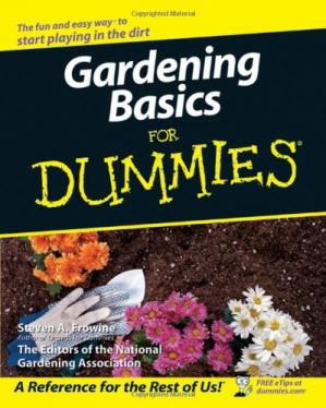 Обложка книги Gardening Basics For Dummies