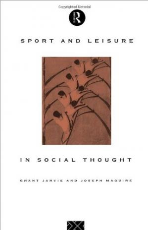 Portada del libro Sport and Leisure in Social Thought