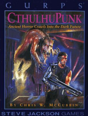 Book cover GURPS Cthulhupunk