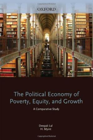Sampul buku The Political Economy of Poverty, Equity, and Growth: A Comparative Study