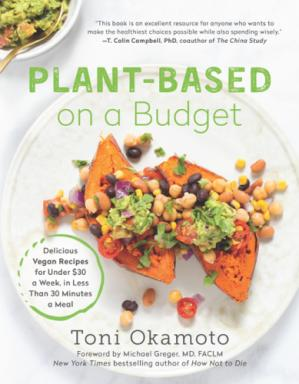 Book cover Plant-Based on a Budget
