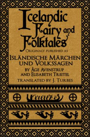 Book cover Icelandic Fairy and Folktales
