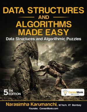 Book cover Data Structures and Algorithms Made Easy: Data Structures and Algorithmic Puzzles