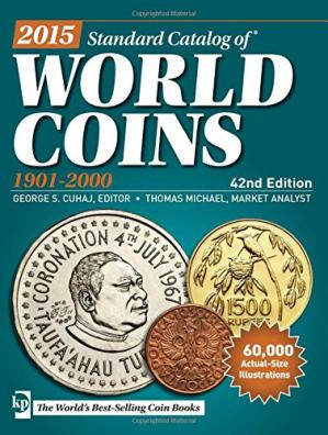 Book cover 2015 Standard Catalog of World Coins 1901-2000