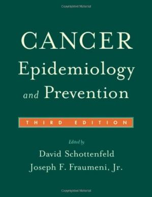 Sampul buku Cancer Epidemiology and Prevention
