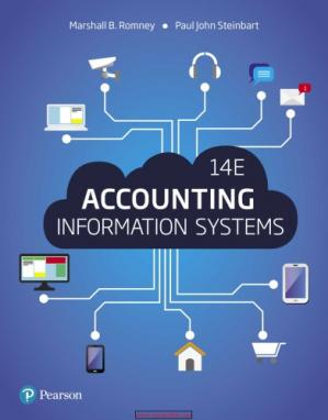 Book cover Accounting information systems