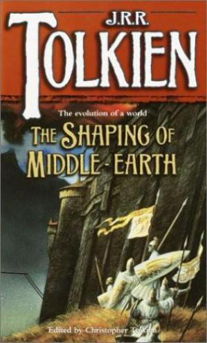 Buchdeckel The Shaping Of Middle-Earth