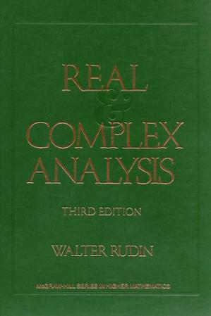 Book cover Real and complex analysis