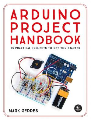 Book cover Arduino Project Handbook: 25 Practical Projects to Get You Started