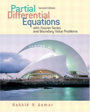 पुस्तक कवर Partial differential equations with Fourier series and BVP