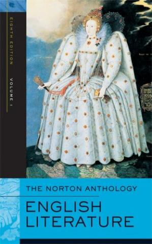 Buchdeckel The Norton Anthology of English Literature, Vol. 1: The Middle Ages through the Restoration and the Eighteenth Century