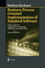 Portada del libro Business Process Oriented Implementation of Standard Software: How to Achieve Competitive Advantage Efficiently and Effectively