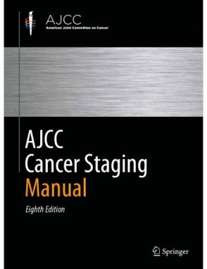 Book cover Ajcc Cancer Staging Manual