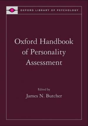 Book cover Oxford Handbook of Personality Assessment