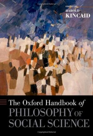 Book cover The Oxford Handbook of Philosophy of Social Science