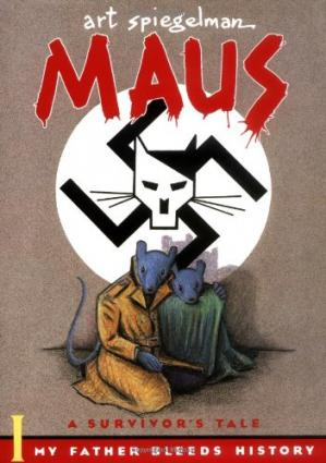 Book cover Maus: A Survivor's Tale: 1. My Father Bleeds History