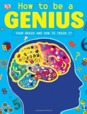 A capa do livro How to Be a Genius