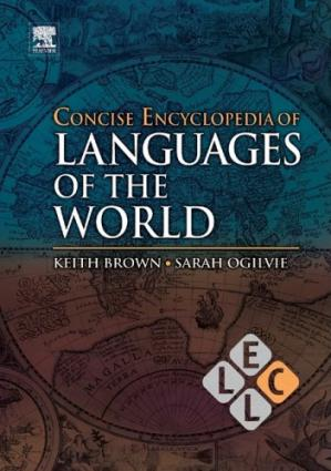 Book cover Concise encyclopedia of languages of the world