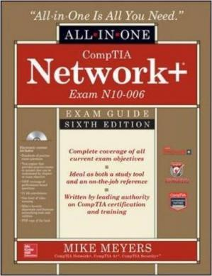 A capa do livro CompTIA Network+ Certification All-in-One Exam Guide (Exam N10-006)