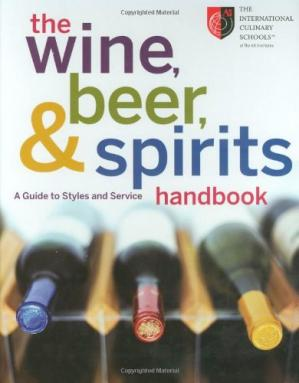 Couverture du livre The Wine, Beer, and Spirits Handbook: A Guide to Styles and Service