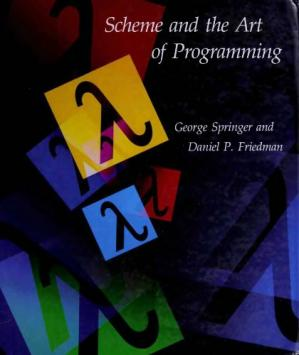 Book cover Scheme and the art of programming