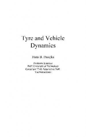 Book cover Tyre and Vehicle Dynamics